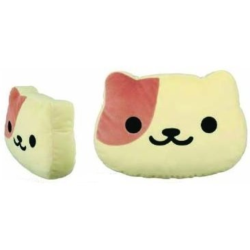 Neko Atsume Big Round Face Plush: Peaches