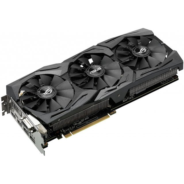 ASUS GeForce GTX 1060 OC, STRIX-GTX1060-O6G-GAMING, 6GB GDDR5