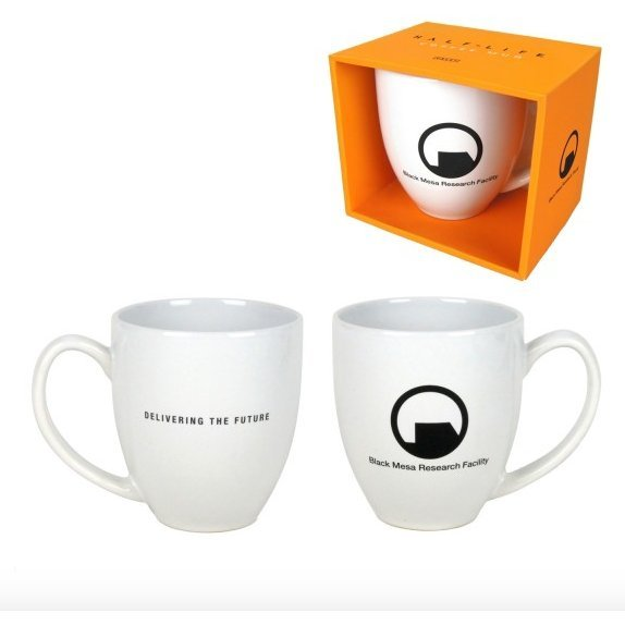 Half-Life 2 Mug Black Mesa Research Facility