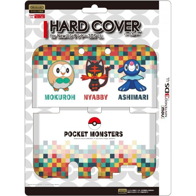 Pocket Monster Hard Cover for New 3DS LL (Tabidachi no Sanbiki)