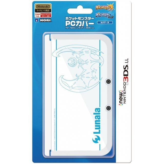 Pocket Monster PC Cover for New 3DS LL (Lunala)