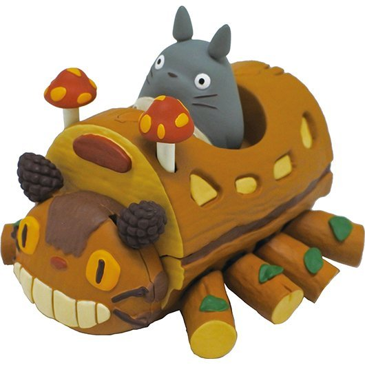 Studio Ghibli Pullback Collection My Neighbor Totoro: Totoro Handmade Catbus
