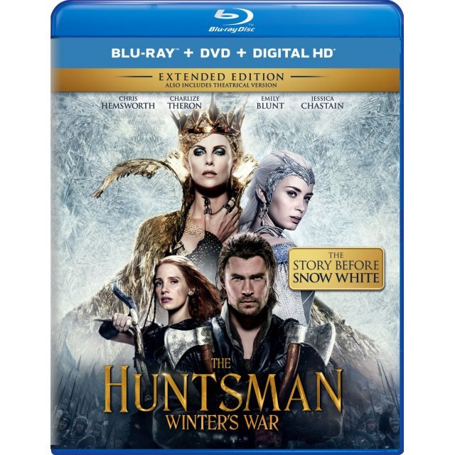 The Huntsman: Winter's War (Extended Edition) [Blu-ray+DVD+Digital HD]