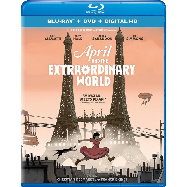 April And The Extraordinary World [Blu-ray+DVD+Digital HD]