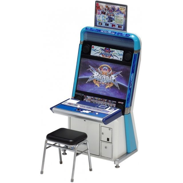 Blazblue Centralfiction 1/12 Scale Plastic Model Kit: Vewlix Game Machine