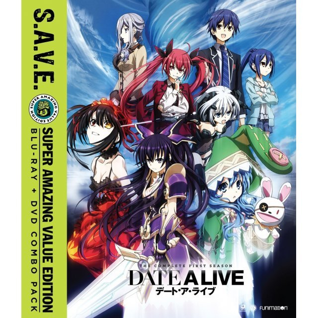 Date A Live - Season One - S.A.V.E. [Blu-ray+DVD]