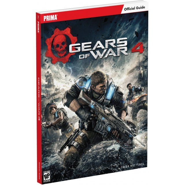 Gears of War 4 Official Strategy Guide (Paperback)
