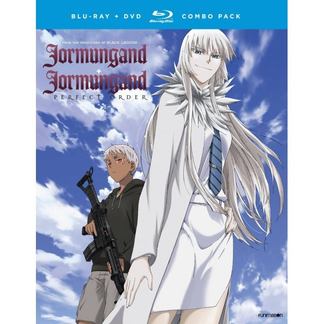Jormungand + Jormungand: Perfect Order - The Complete Series [Blu-ray+DVD]