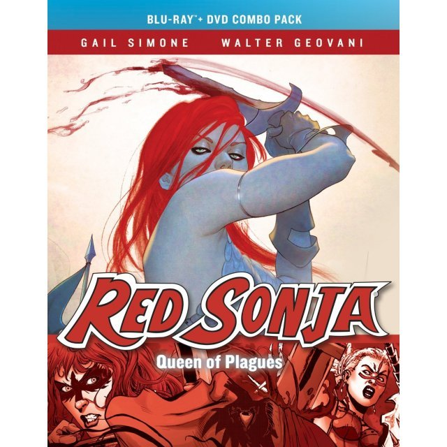 Red Sonja: Queen Of Plagues [Blu-ray+DVD]