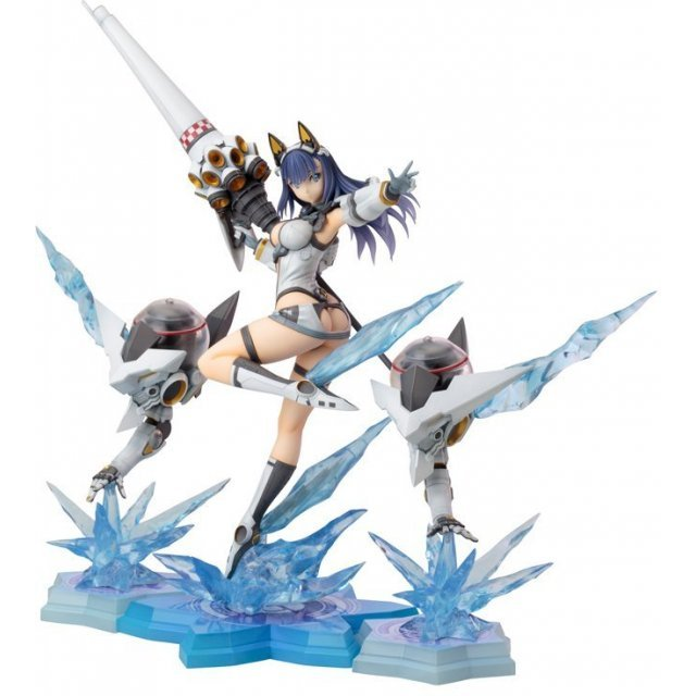Sword & Wizards The Emperor of Swords & Seven Lady Knights 1/8 Scale Pre-Painted Figure: Yukishiro Fuyuka Damaged Ver.