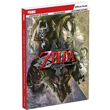 The Legend of Zelda: Twilight Princess HD Official Strategy Guide (Paperback)