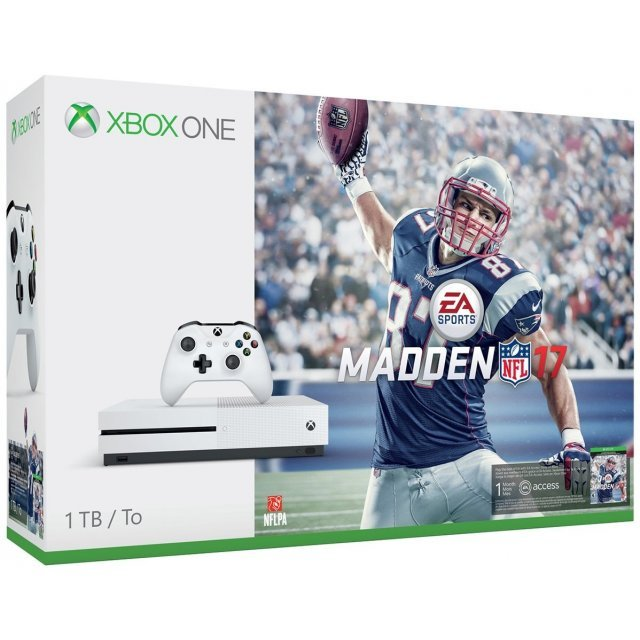 Xbox One S Madden NFL 17 Bundle (1TB Console)