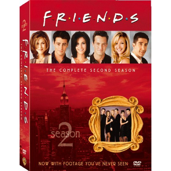 Friends Season 2 [3DVD]