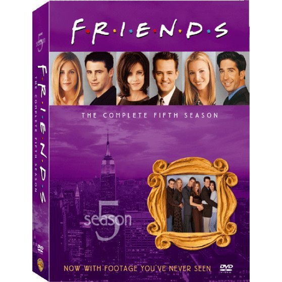 Friends Season 5 [4DVD]