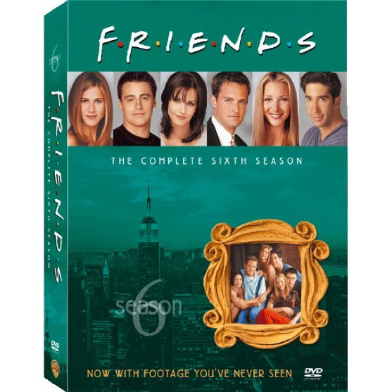 Friends Season 6 [4DVD]