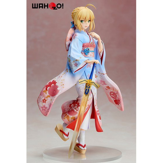 Fate/Stay Night Unlimited Blade Works 1/7 Scale Pre-Painted Figure: Saber Haregi Ver.