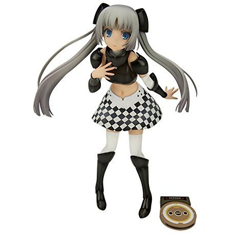 Miss Monochrome -The Animation- 2 1/8 Scale Pre-Painted Figure: Miss Monochrome Black Ver.