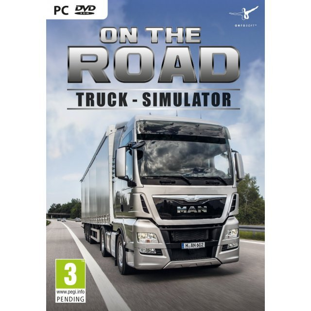 On the Road: Truck Simulator (DVD-ROM)