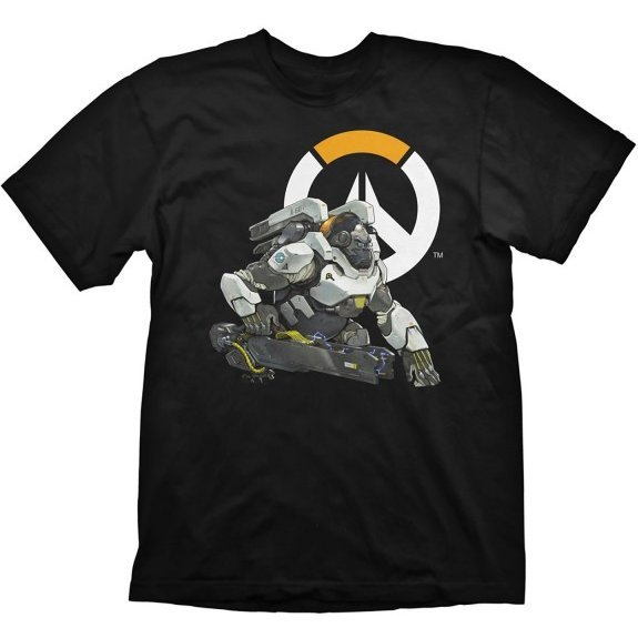 Overwatch T-Shirt Winston Logo (L Size)