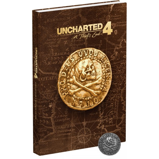 Uncharted 4: A Thief's End Collector's Edition Official Strategy Guide (Hardcover)