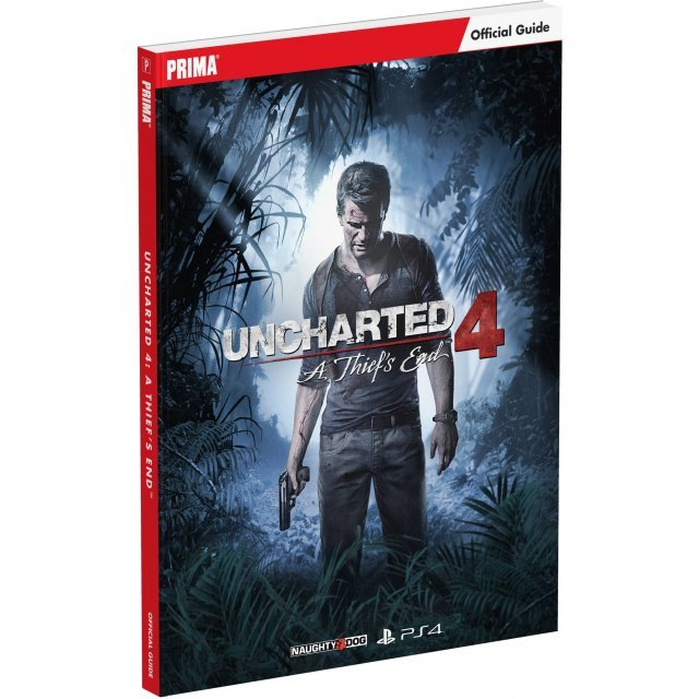 Uncharted 4: A Thief's End Official Strategy Guide (Paperback)