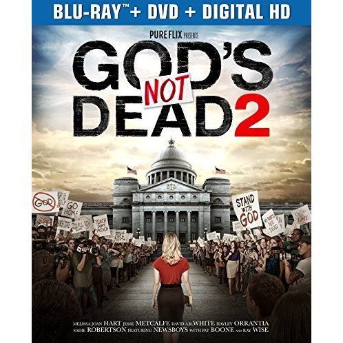 God's Not Dead 2 [Blu-ray+DVD+Digital HD]