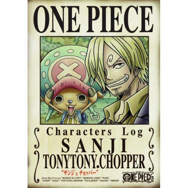 One Piece Characters Log - Sanji & Chopper