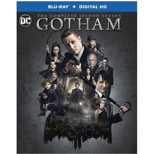 Gotham: The Complete Second Season [Blu-ray+Digital HD]