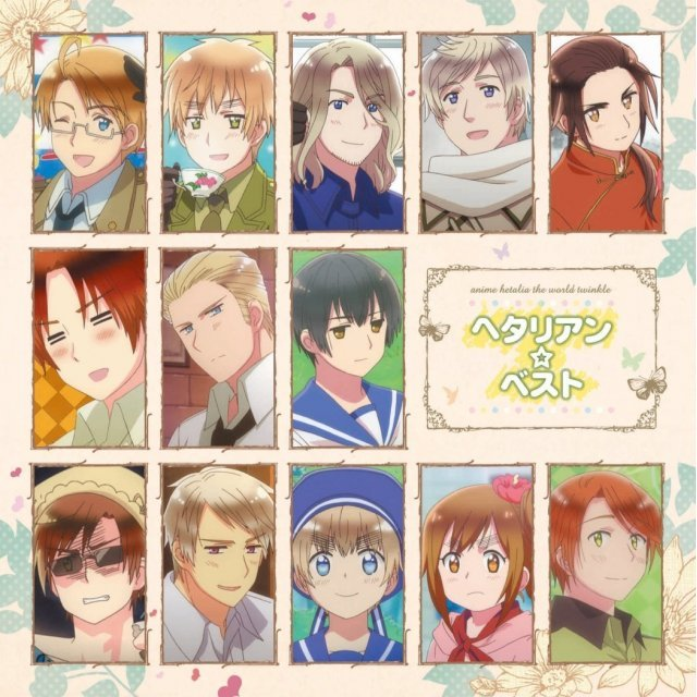 Hetalia The World Twinkle - Hetalian Best