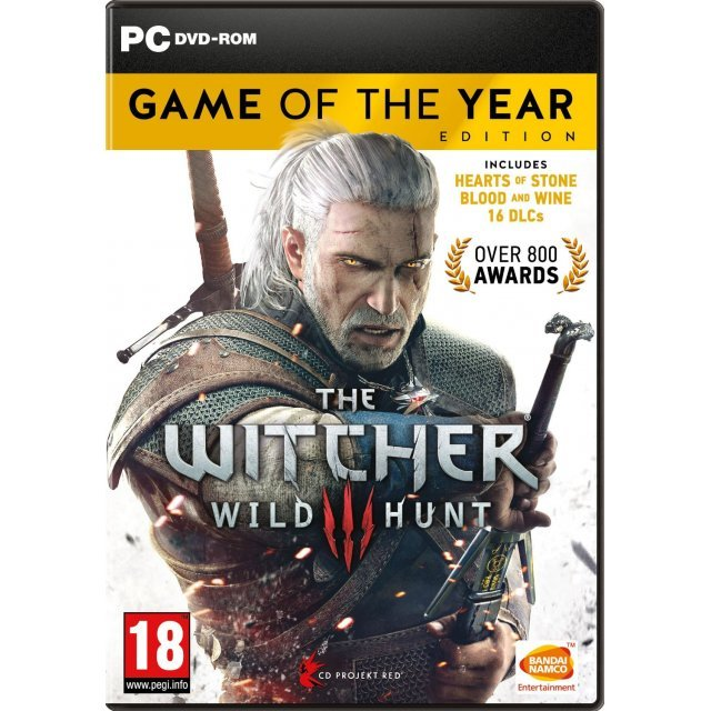 The Witcher 3: Wild Hunt [Game of the Year Edition] (DVD-ROM)