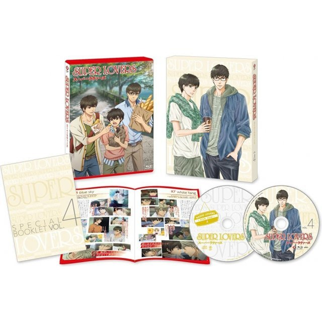 Super Lovers Vol.4 [DVD+CD Limited Edition]