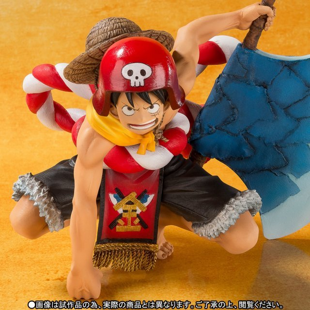 Figuarts Zero One Piece Film Gold: Monkey D. Luffy -One Piece Film Gold Opening Ver.-