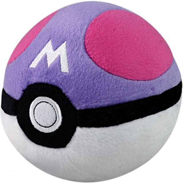 Pokemon Plush: Soft Monster Ball MS / Master Ball (Re-run)