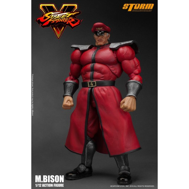 Street Fighter V 1/12 Scale Pre-Painted Action Figure: M. Bison