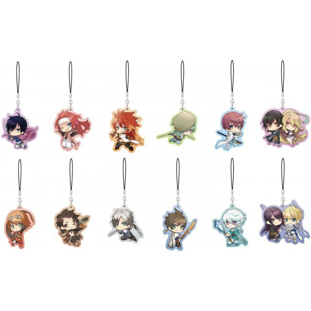 Tales of Series Pearl Acrylic Collection (Set of 12 pieces)