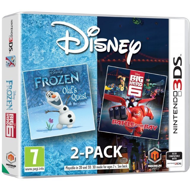 Disney 2-Pack - Frozen: Olaf's Quest + Big Hero 6: Battle in the Bay