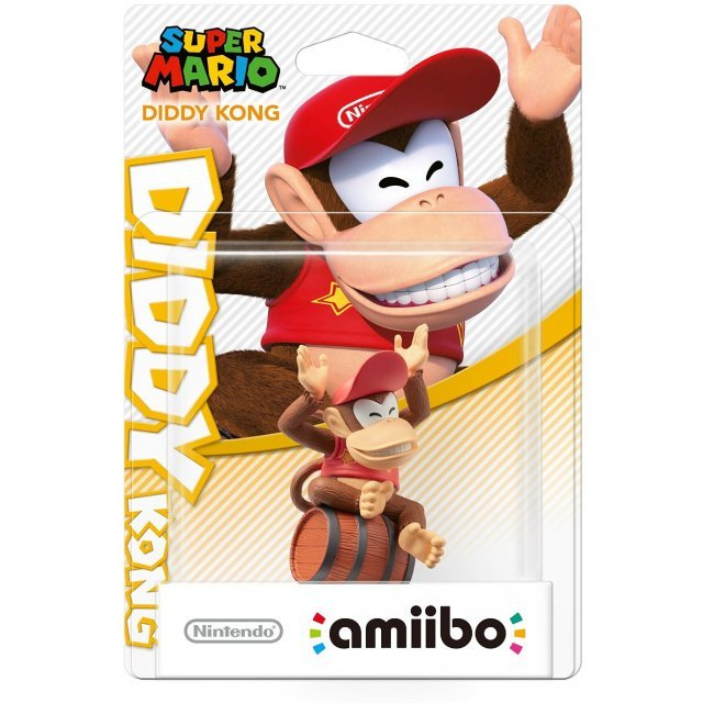 amiibo Super Mario Collection Figure (Diddy Kong)