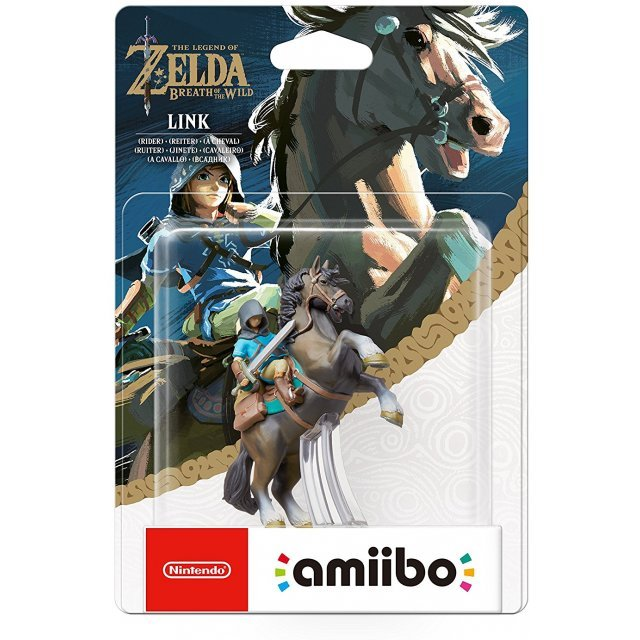 amiibo The Legend of Zelda: Breath of the Wild Series Figure (Link - Rider)