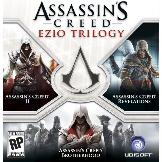 Assassin's Creed: The Ezio Collection [Collector's Edition] (English & Chinese Subs)