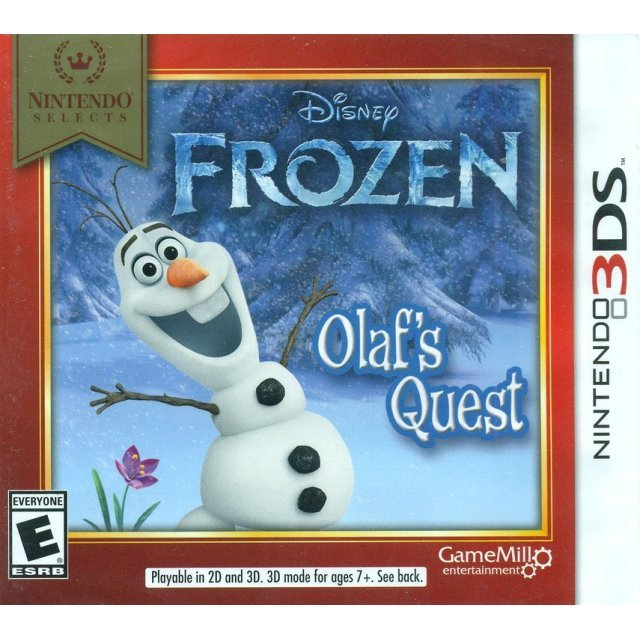 Disney Frozen: Olaf's Quest (Nintendo Selects)