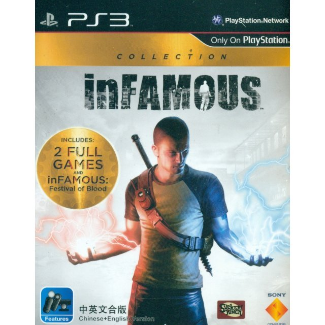 inFamous Collection (Playstation 3 the Best) (English & Chinese Subs)