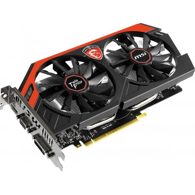 MSI GeForce GTX 750 Ti Gaming, N750Ti TF 2GD5/OC, 2GB GDDR5