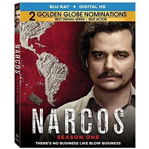 Narcos: Season One [Blu-ray+Digital HD]