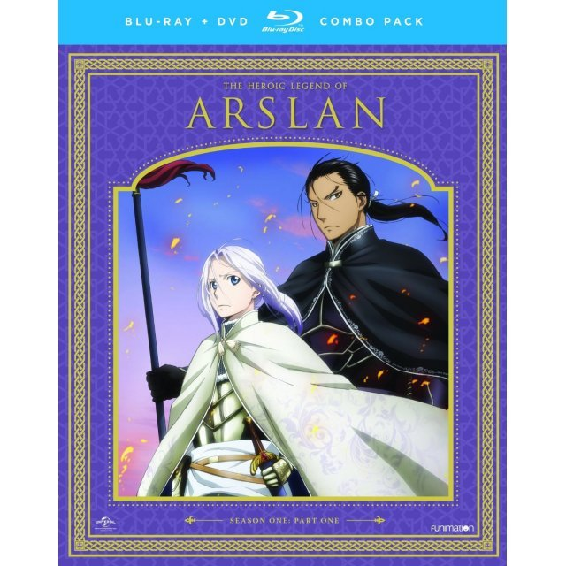 The Heroic Legend of Arslan: Season One Part One [Blu-ray+DVD]