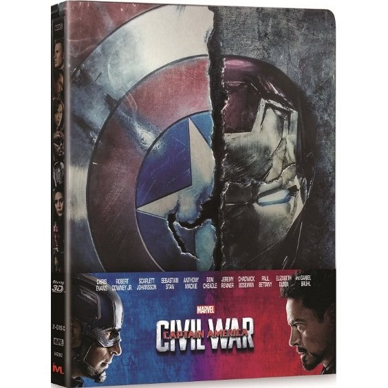 Captain America : Civil War [3D+2D] [Steelbook Edition]
