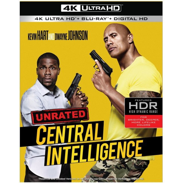 Central Intelligence [4K UHD Blu-ray]