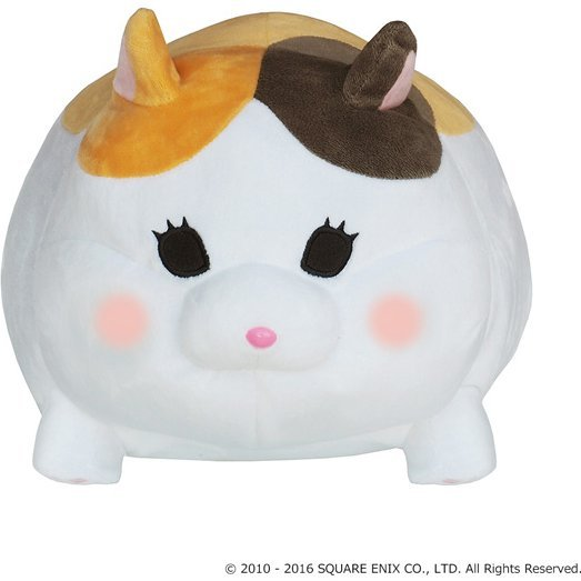 Final Fantasy XIV Plush Cushion: Fat Cat
