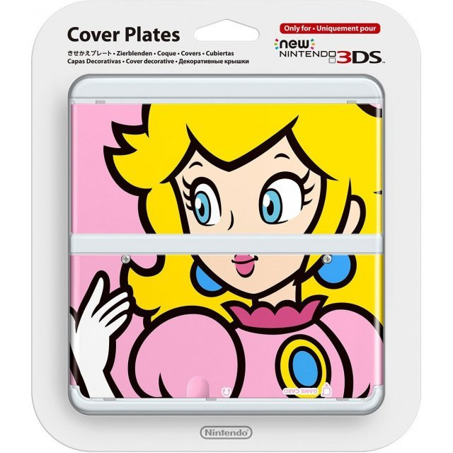 New Nintendo 3DS Cover Plates No.003 (Princess Peach)