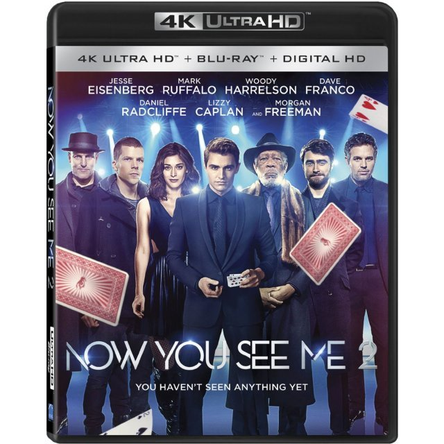Now You See Me 2 [4K UHD Blu-ray]