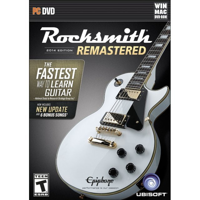 Rocksmith 2014 Edition: Remastered (DVD-ROM)